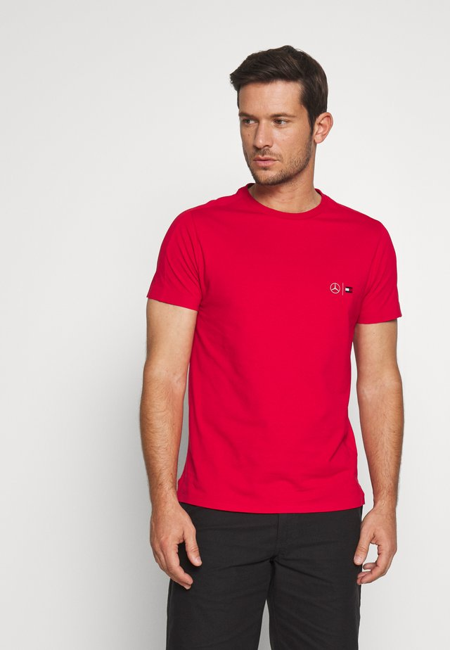 TOMMY X MERCEDES-BENZ - T-shirt basic - red