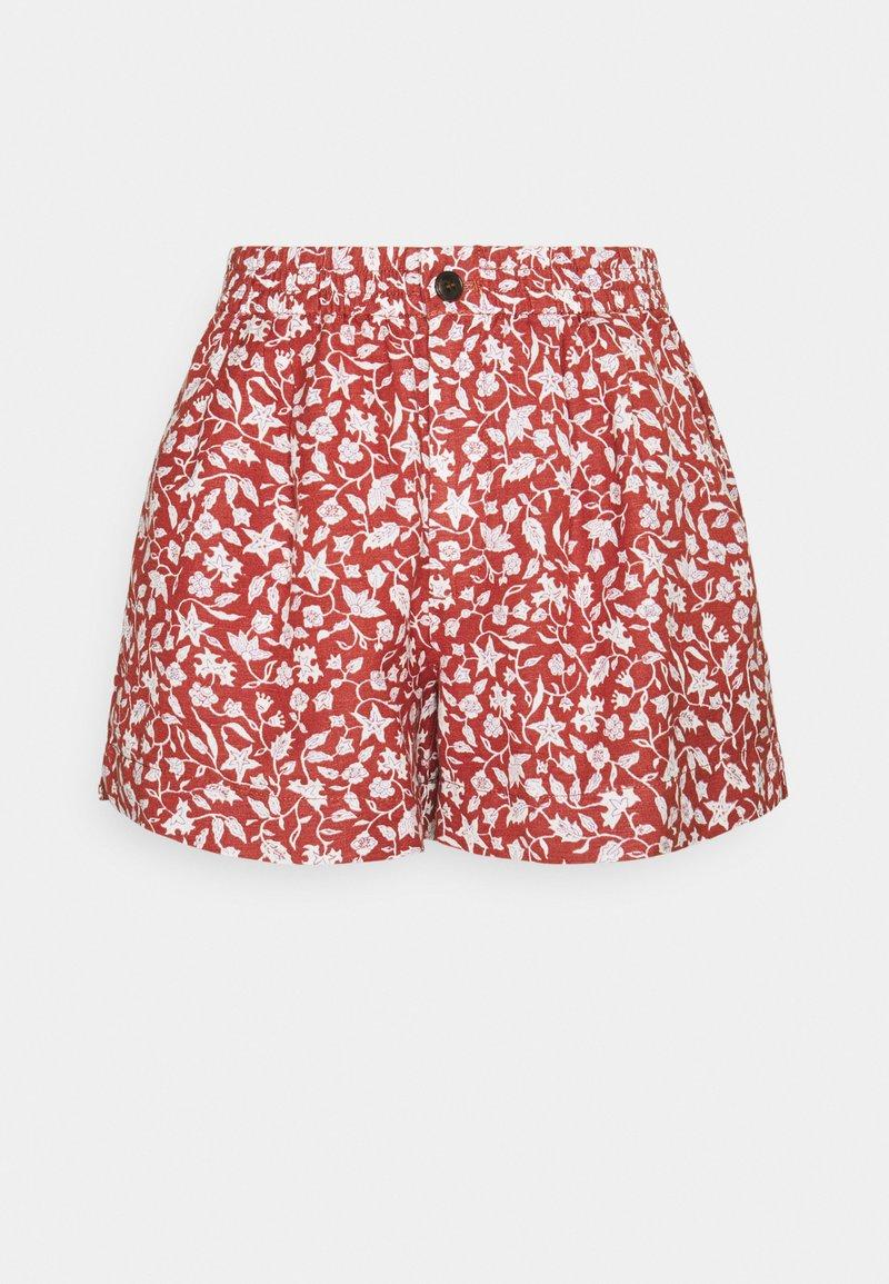 Madewell - TRACK IN PRINT - Shorts - vine