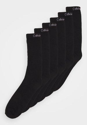 MEN CREW ANTONIO 6 PACK - Socks - black