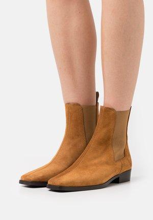 AMIE - Classic ankle boots - cognac