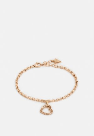 HEARTED CHAIN - Náramek - rose gold-coloured