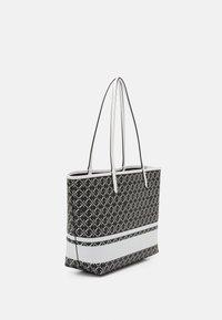 Lauren Ralph Lauren - COLLINS TOTE MEDIUM - Tote bag - black/snow white - 1