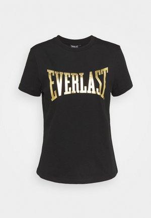 BASIC TEE LAWRENCE - Print T-shirt - black