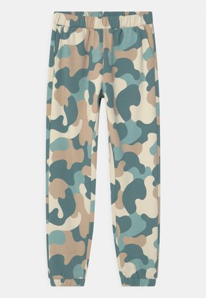 CARRO - Tracksuit bottoms - dusty aqua