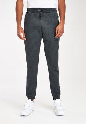 SLIM  - Tracksuit bottoms - mottled grey
