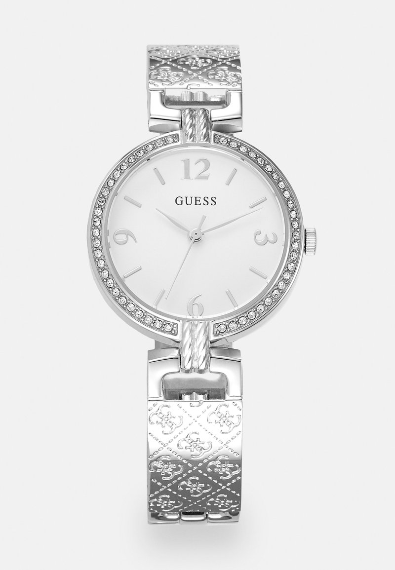 Guess - LADIES DRESS - Horloge - silver-coloured