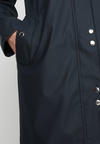 YAS - YASRAINA RAIN COAT - Waterproof jacket - carbon - 5