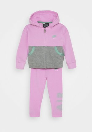 AIR LEGGING SET - Zip-up hoodie - artic pink