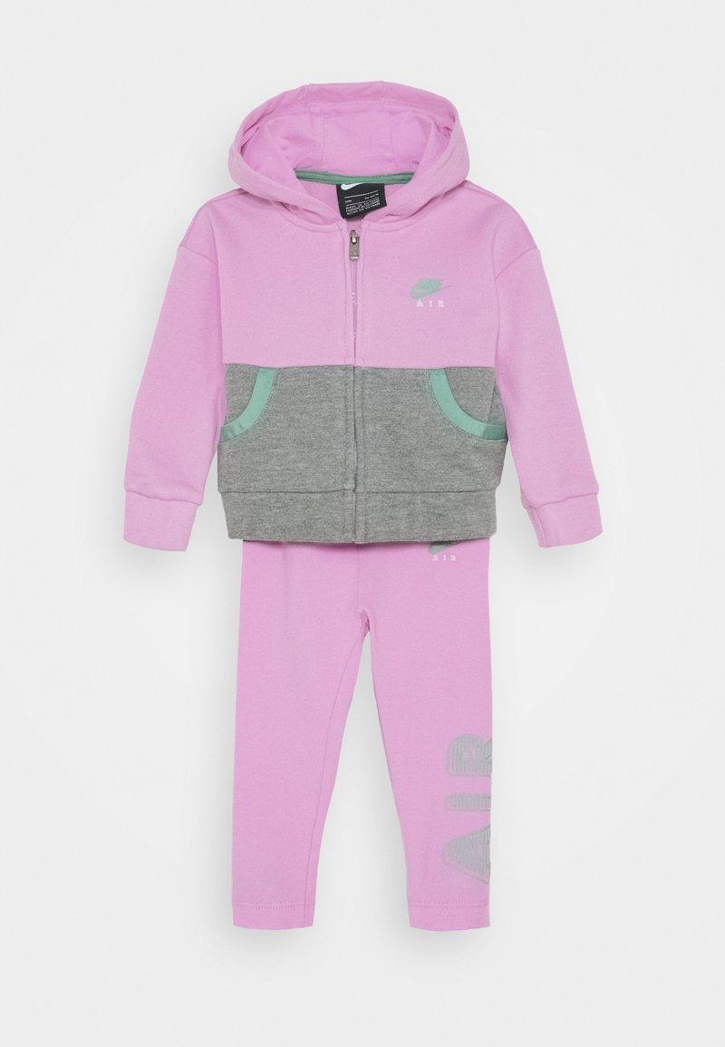 Nike Sportswear - AIR LEGGING SET - Felpa aperta - artic pink