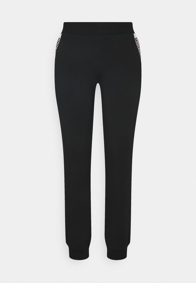 PANTS - Pyjamabroek - black