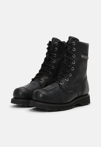 Harley Davidson - EDGERTON - Lace-up ankle boots - black - 1
