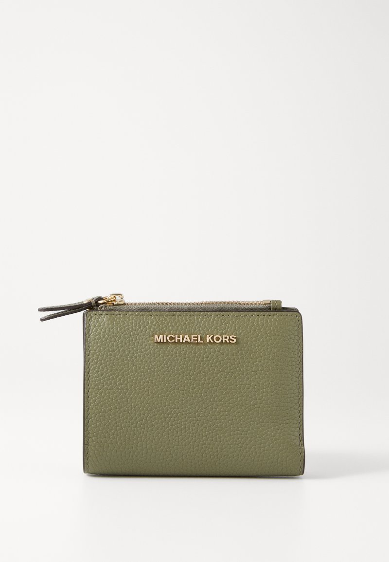 MICHAEL Michael Kors - JET SET SNAP BILLFOLD SMALL - Wallet - army green