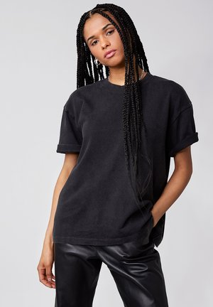Basic T-shirt - vintage black