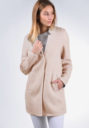 MANIA - Short coat - nude
