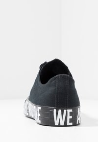 Converse - CHUCK TAYLOR ALL STAR WE ARE NOT ALONE - Tenisky - black/white - 3