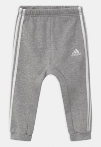 adidas Performance - LOGO SET UNISEX - Tracksuit - white/team royal blue/medium grey heather - 2