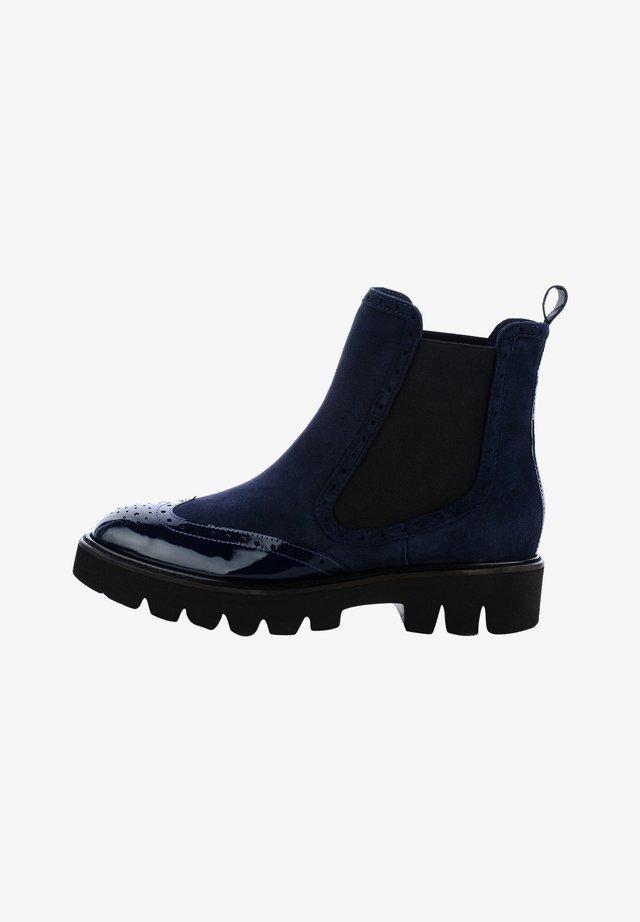 TEZEELI - Stivaletti - navy blue