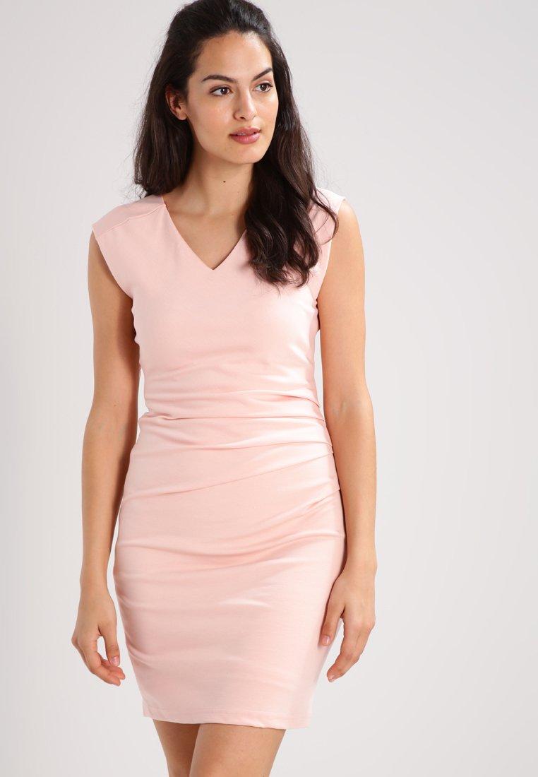 Kaffe - INDIA V NECK DRESS - Shift dress - evening rose