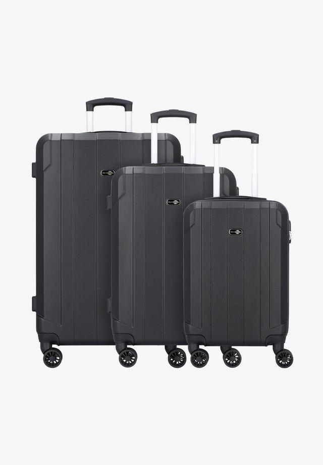 3 PIECES - Set de valises - black
