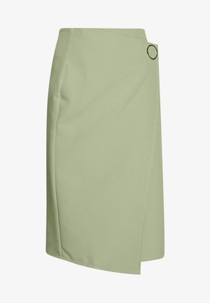 WEST SKIRT - Pencil skirt - sage