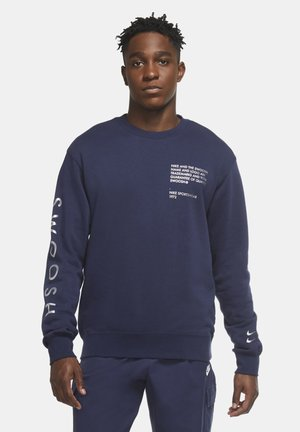 Sweatshirt - midnight navy/metallic silver