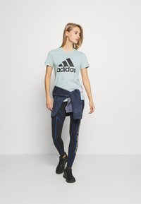 adidas Performance - BOS TEE - Print T-shirt - mint - 1
