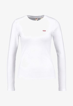 LS BABY TEE - Langærmede T-shirts - white