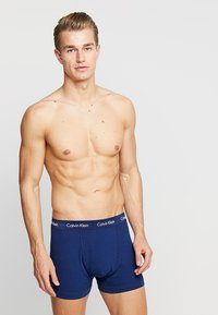 Calvin Klein Underwear - TRUNK 3 PACK - Pants - blue - 2