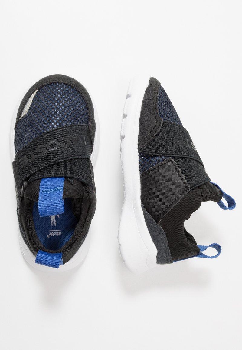 Lacoste - DASH 120 - Nazouvací boty - black/blu