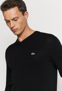 Lacoste - Sweter - black - 4