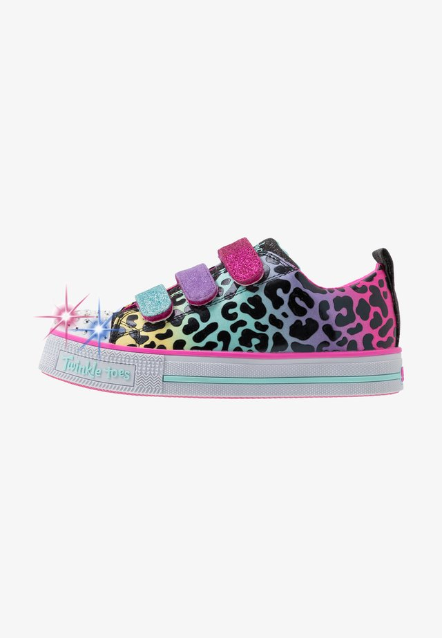 TWINKLE LITE - Sneakers laag - black/multicolor