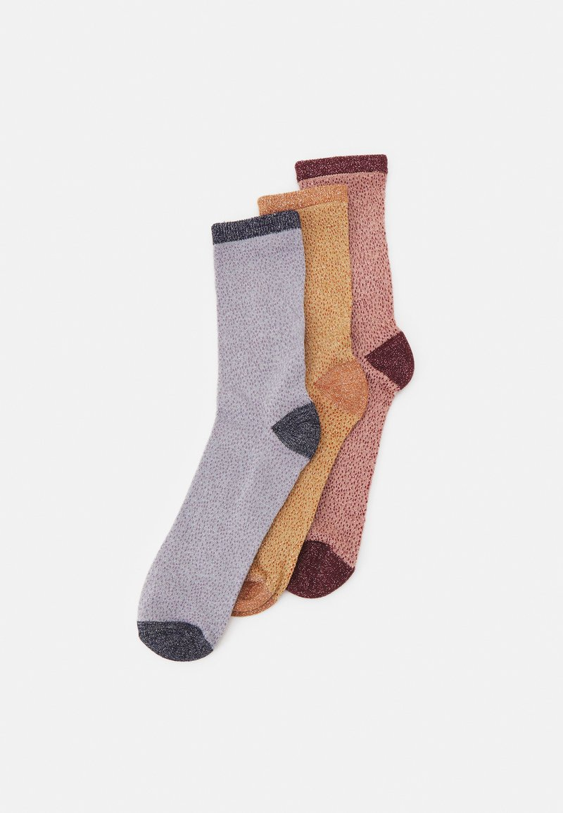 Becksöndergaard - MIX SOCK 3 PACK - Socks - dusty/lark/skyway