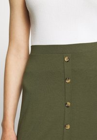 Even&Odd - A-line skirt - olive night - 4