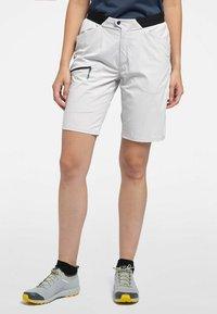 Haglöfs - L.I.M FUSE SHORTS - Outdoor shorts - stone grey - 0