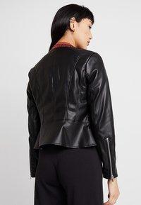 ONLY - ONLNEWMONA JACKET - Faux leather jacket - black - 2
