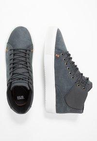 HUB - MURRAYFIELD - Sneakers hoog - washed navy/dust - 1