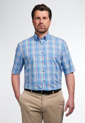 ETERNA COMFORT FIT - Shirt - türkis/rot