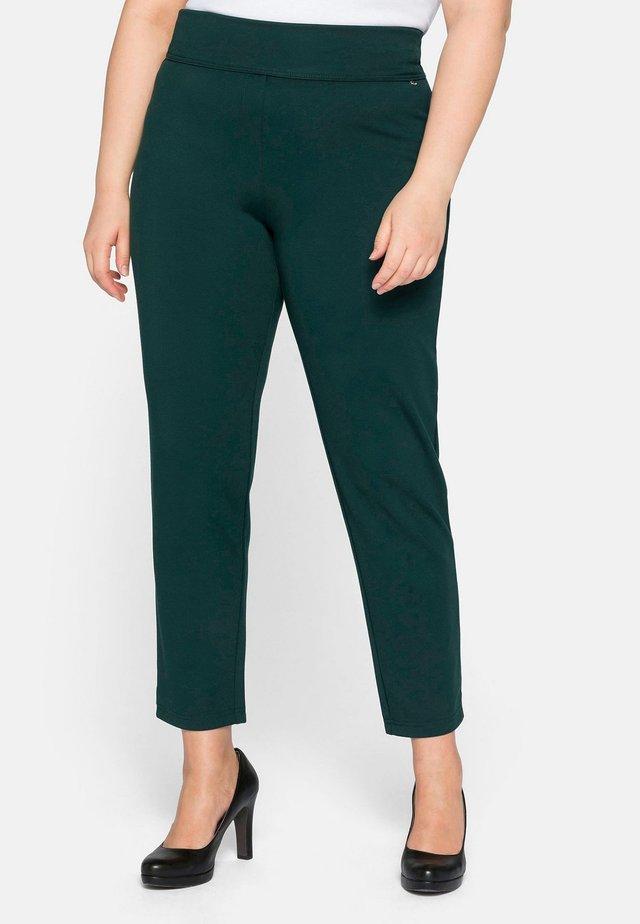 Pantalon classique - tiefgrün
