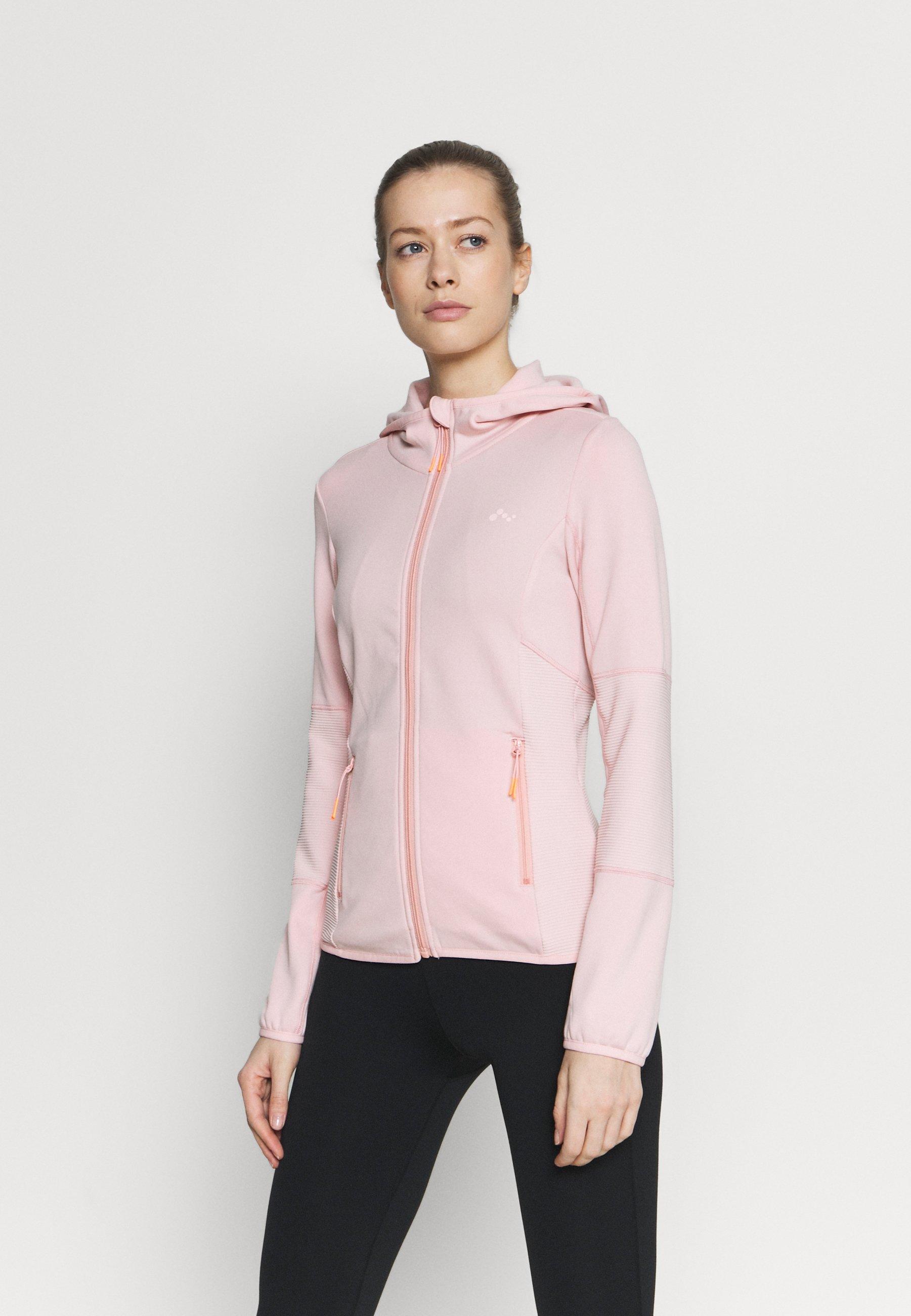 Women ONPJETTA HOOD - Fleece jacket