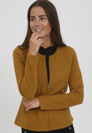 Vest - golden brown
