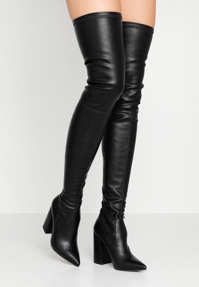 SOMMER - Stivali con i tacchi - black paris