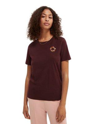 CREW NECK TEE - Basic T-shirt - wine