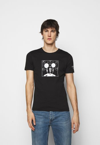 NEW COLLECTION WITH MICKEY MOUSE - Print T-shirt - nero