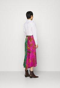 Farm Rio - MIXED JUNGLE SKY WRAP SKIRT - Pencil skirt - multi - 2