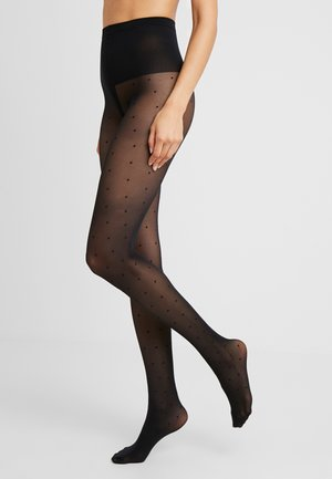 DORIS DOTS 40 DEN - Tights - black