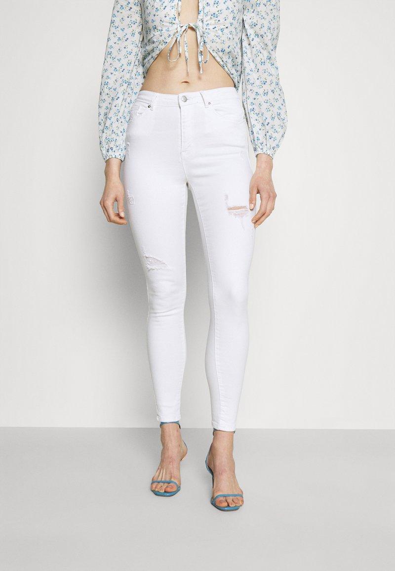 ONLY - ONLBLAKE LIFE SKINNY - Jeans Skinny Fit - white