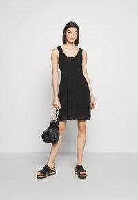M Missoni - SLEEVES DRESS - Jumper dress - black - 1