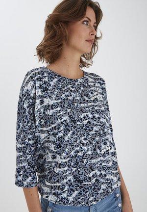 Camiseta de manga larga - blue animal mix
