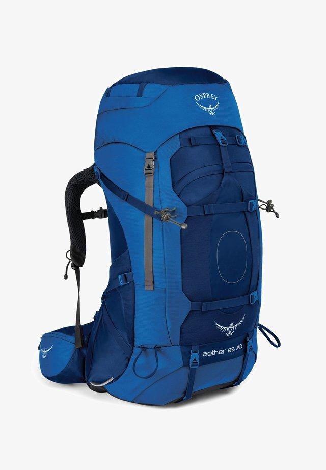 AETHER AG - Hiking rucksack - neptune blue