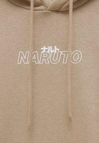 PULL&BEAR - NARUTO - Sweatshirt - mottled beige - 6